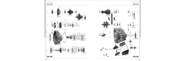 Ford CFT30 Automatic Transmission Spare Parts