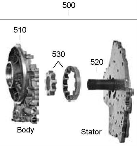 6T40 Pump Assembly (GM)  Hardparts 10-12
