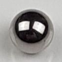"""Schaltsteuerung Checkball Kugel 1/4"""" - 6,35 mm Metall"""