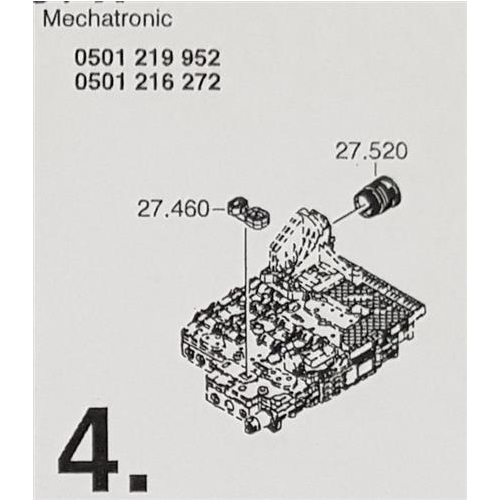 ZF6HP26 ZF6HP28 X Subkit Number 4  from Overhaul Kit BMW...