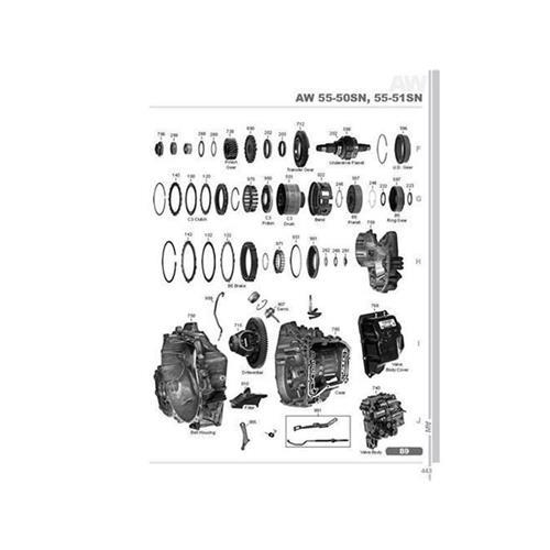 AW55-50SN AW55-51SN AF23 AF33 Exploded view spare part...