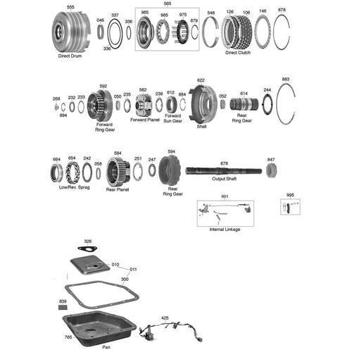 GM TH200 C Explosionszeichnung Ersatzteil Katalog PDF
