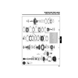 Chrysler A604 40TE 41TE Explosionszeichnung Ersatzteil Katalog PDF