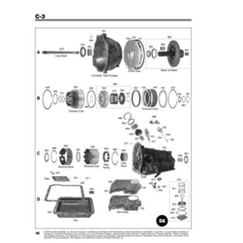 Ford C3 Explosionszeichnung Ersatzteil Katalog PDF