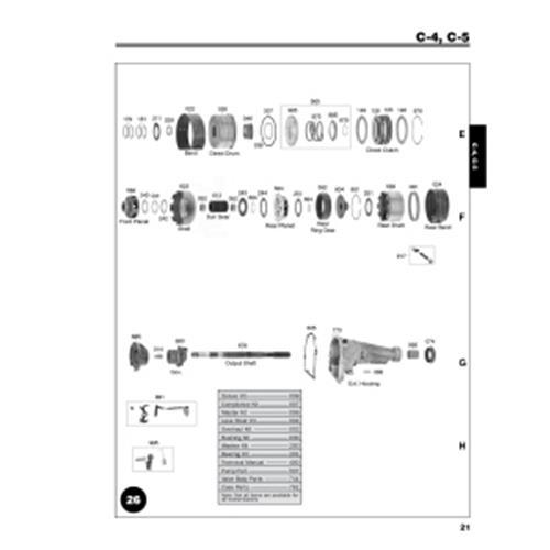 Ford C4 Ford C5 Explosionszeichnung Ersatzteil Katalog PDF