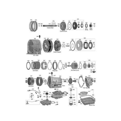 GM Opel 4L30E AR25 AR35 Explosionszeichnung Ersatzteil Katalog PDF
