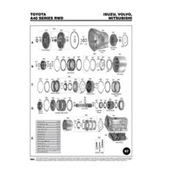 Toyota A40 Serie Explosionszeichnung Ersatzteil Katalog PDF