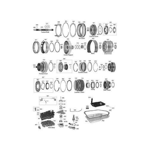 GM TH200-4R Explosionszeichnung Ersatzteil Katalog PDF