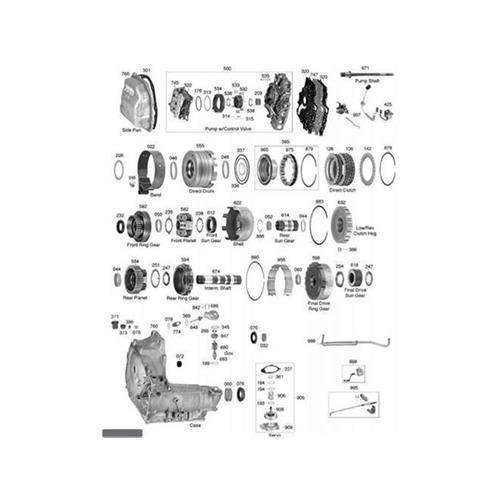 GM TH125 C Explosionszeichnung Ersatzteil Katalog PDF