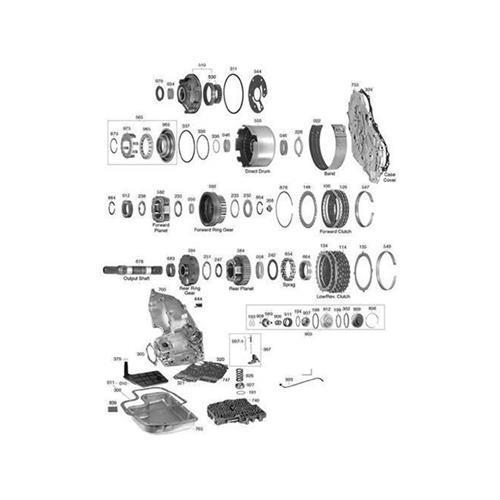 GM TH325 TH325-4L Explosionszeichnung Ersatzteil Katalog PDF