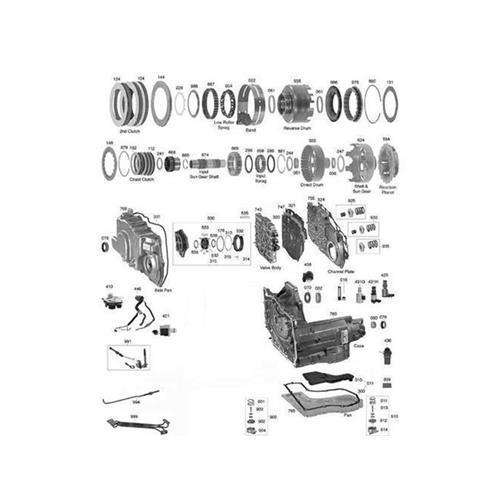 GM 4T40E Explosionszeichnung Ersatzteil Katalog PDF