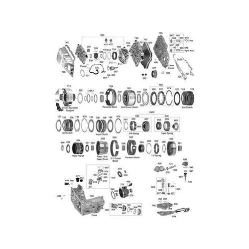 GM 4T60E 4T65E Explosionszeichnung Ersatzteil Katalog PDF