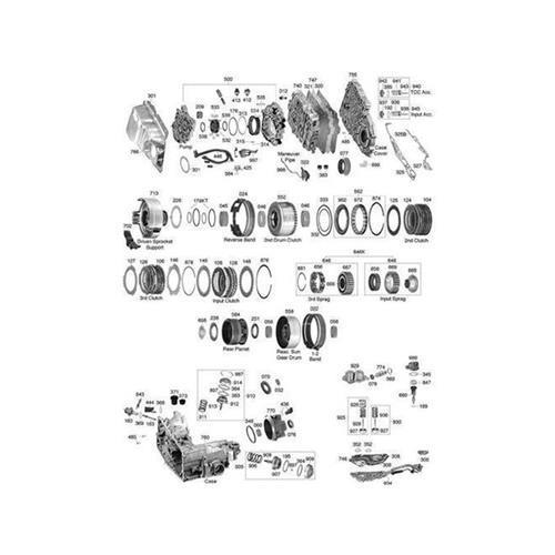 GM TH440-T4 4T60 Explosionszeichnung Ersatzteil Katalog PDF