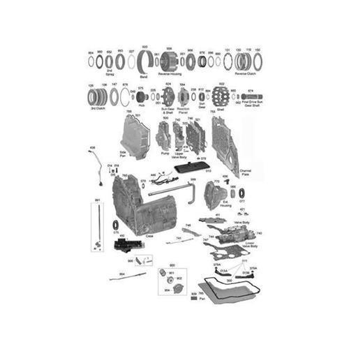 GM 4T80E Explosionszeichnung Ersatzteil Katalog PDF