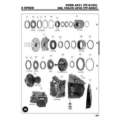 AW TF80SC Exploded view spare part catalog PDF