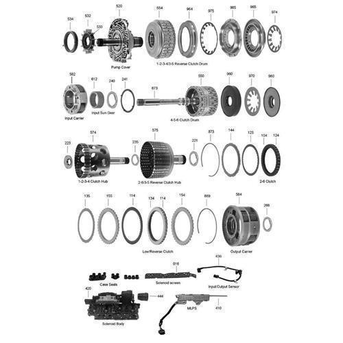 GM 6L45E 6L60E 6L80E 6L90E Explosionszeichnung Ersatzteil Katalog PDF