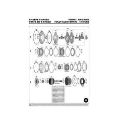 Chrysler 45RFE 545RFE 68RFE Explosionszeichnung Ersatzteil Katalog PDF