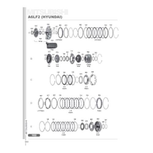 A6LF2 Hyundai Explosionszeichnung Ersatzteil Katalog PDF