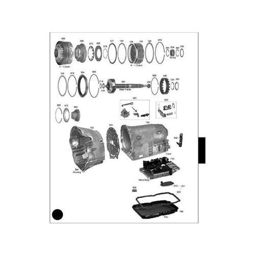 Mercedes 722.6 Exploded view spare part catalog PDF