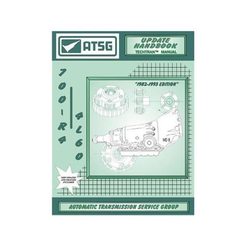 TH700 4L60 Update Handbuch über Modelländerungen von 1986 - 1993