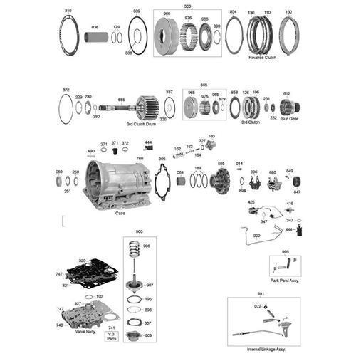 GM TH180 C Explosionszeichnung Ersatzteil Katalog PDF