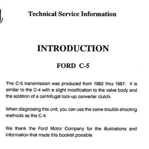 C4 C5 Reparaturanleitung Download als PDF